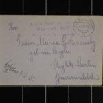 Feldpost vom Oberleutnant Hugo Protivensky an seine Frau, item 40