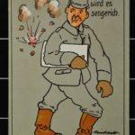 Humoristische Karten von Wilhelm Sandvoß