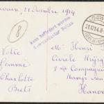 Kerstkaartjes voor krijgsgevangene Henri Buts, item 3
