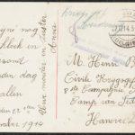 Kerstkaartjes voor krijgsgevangene Henri Buts, item 5
