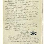 Lettres d'anciens catéchumènes au curé de Palau-del-Vidre