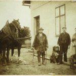Mein Großvater bei seinem Vater in Falkenau