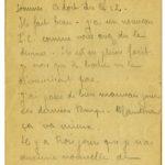 FRAD077-001 Lettres de Maurice Leclerc, victime d'obus à gaz