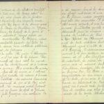FRAD077-002, Chronologie de la guerre rapportée par un enfant de 9 ans