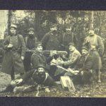 FRAD077-080 Carte postale d'un soldat à sa femme