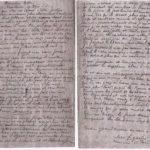 Manuscrit d'une dernière lettre