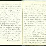 Tagebuchaufzeichnungen von Reinhold Sieglerschmidt (1), item 19