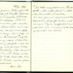 Tagebuchaufzeichnungen von Reinhold Sieglerschmidt (1), item 121
