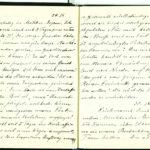 Tagebuchaufzeichnungen Reinhold Sieglerschmidt (3), item 47