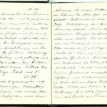 Tagebuchaufzeichnungen Reinhold Sieglerschmidt (4), item 33