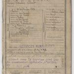 01 - carnet militaire de Paulin Albert PADOX