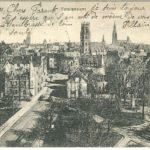 Carte postale envoyée par François Pillain, vue de Münster