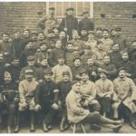 Photographie de 48 prisonniers de guerre, camp de Münster