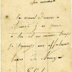 BILLY Adélaïde, correspondance