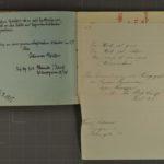 Album mit Widmungen der Inhaftierten aus dem Kriegsgefangenenlager Stobs, item 38