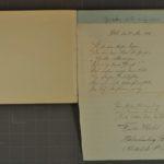 Album mit Widmungen der Inhaftierten aus dem Kriegsgefangenenlager Stobs, item 46