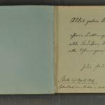 Album mit Widmungen der Inhaftierten aus dem Kriegsgefangenenlager Stobs, item 51