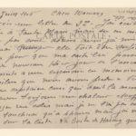 FRBNSA-066 Ferdinand Louis de Ruyter, caporal au 282 ème RI, correspondance, item 2