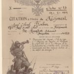 FRBNSA-066 Ferdinand Louis de Ruyter, caporal au 282 ème RI, correspondance, item 3