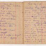 FRBNSA-080 Léo Lasserre, carnet de guerre, item 9