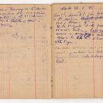 FRBNSA-080 Léo Lasserre, carnet de guerre, item 10