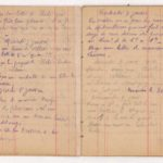 FRBNSA-080 Léo Lasserre, carnet de guerre, item 13