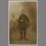 001 Carte postale écrite à Münster par mon grand-père Jean Gaubicher à son épouse