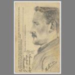 002 Portrait de mon grand-père réalisé par Mathis Ernest, un de ses compagnons de captivité
