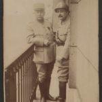 FRBDIC- 11  Histoire de Louis Carette, capitaine d'infanterie puis instructeur détaché aux Armées américaines