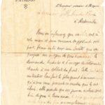 Remerciements - Inspection Primaire d'Avignon à un directeur d'école