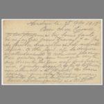 02 Carte postale chromo de Vital Michalet à son épouse, le 18 septembre 1915