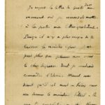 Lettre adressée à Yvonne Couanet et lettre adressée à Pol Noirtin