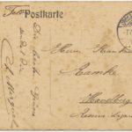Feldpostkorrespondenz Familie Ramke/Gramm, item 6