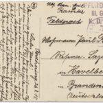 Feldpostkorrespondenz Familie Ramke/Gramm, item 10