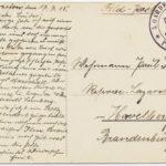 Feldpostkorrespondenz Familie Ramke/Gramm, item 18