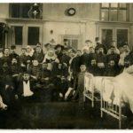 Les blessés de la salle Sabran à l'Hôtel Dieu de Lyon