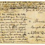 Carte de Louis Rouget à son frère