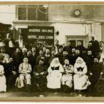 Personnel soignant et blessés de l'Hôtel Dieu de Lyon