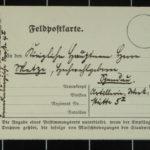 Briefe an Hauptmann Ferdinand Metze an der Westfront