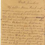 Omslag met postkaarten, foto's en brieven Clement Honoré, item 1