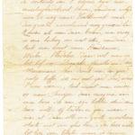 Omslag met postkaarten, foto's en brieven Clement Honoré, item 6