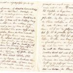 Omslag met postkaarten, foto's en brieven Clement Honoré, item 7