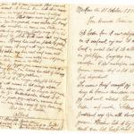 Omslag met postkaarten, foto's en brieven Clement Honoré, item 8