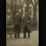 Photographie de Léonce Desbureaux en uniforme.