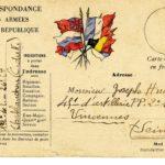 Léon PYARD, carte postale, caricature, 15 novembre 1914