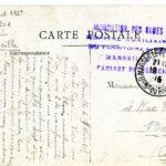 Léon PYARD, carte postale, Hôpital de Marseille, 20 mars 1915